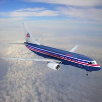 3d 737-700 american airlines