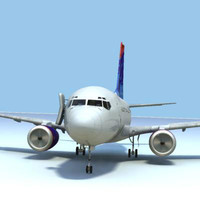 737-7 DELTA  W/INTERIOR