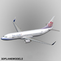 max b737-800 china airlines 737
