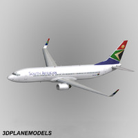 B737-800 South African Airways