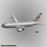 kc-767 tanker transport aircraft 3d model