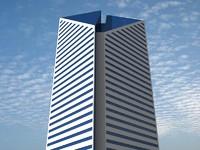 3d model smurfit-stone building