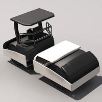 3d model of compactor roller