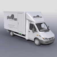 mobile photolaboratory 3d model