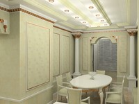 Interior : classic hall