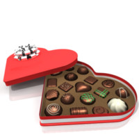 Heart Chocolates Box