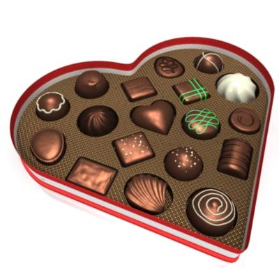 chocolate heart box 3ds