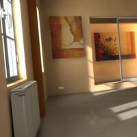 room modern 3d model