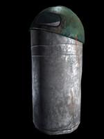 trash trashcan ashcan max