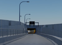 Boston Central Artery/Tunnel (Big Dig) Atlantic Ave. I-93 NB On-Ramp