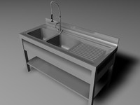 3d 3ds kitchen sink