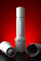 tactical flashlight 3d obj