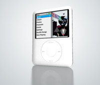 3d model ipod nano