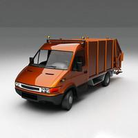 dustcart dust car 3ds