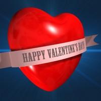 3d model heart banner