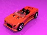 k1 sports car 3d model