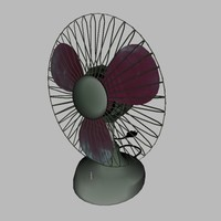 3ds max old fan