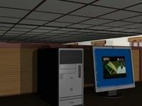 3d cad lab model