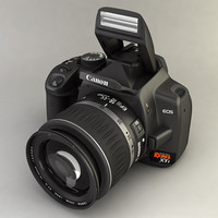 Canon 400D XTi (with Kit Lens)
