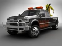 Truck + Mobile Crane
