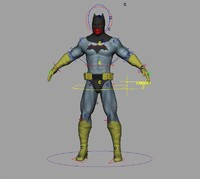 batman human 3ds
