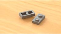 Lego 2x1-Thin