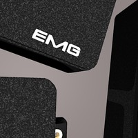 3ds max humbucker pickup guitar emg