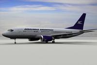 3d model 737-700 aerolineas