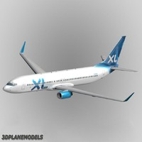 3d b737-900 xl airways 737 model