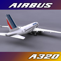 airbus a320 air france 3ds