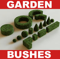 Garden bushes collection