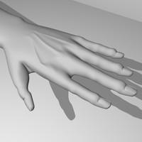 hand obj