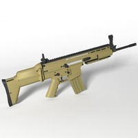 3ds fn scar-l assault rifle