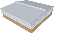 3d roof hatch - double