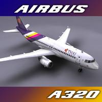 a320 thai airways max