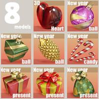 christmas 8 - balls