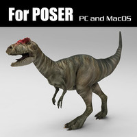 Allosaurus for Poser