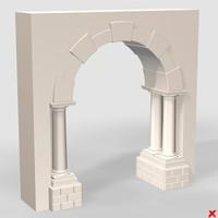 3d arch model