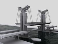 bridge 3d 3ds