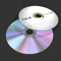 3d cd model