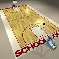 Basketball Court High School