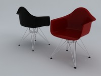 eames molded plastic armchair max