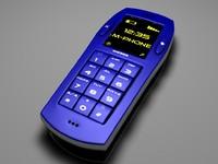 simple phone 3d model