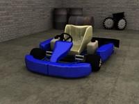 race kart 3d max