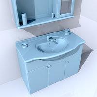 bath sink obj
