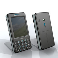3d sony ericsson mobile phone