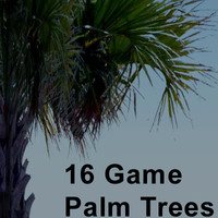 16 palm trees 3ds