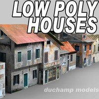 Low Poly Houses