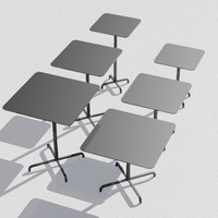 table designed foster 3d model