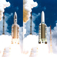 obj ariane 5 rocket launch